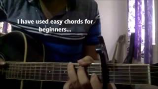 Download Hindi Video Songs - Tere Dil Mein - Armaan Malik   Guitar Chords Lesson    Commando 2   Easy Beginners Lesson