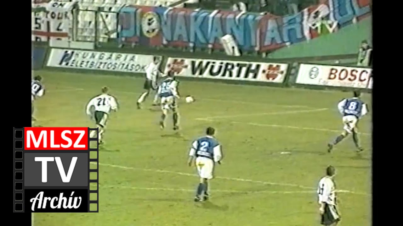 Ferencváros-Vác | 8-0 | 2000. 03. 11 | MLSZ TV Archív