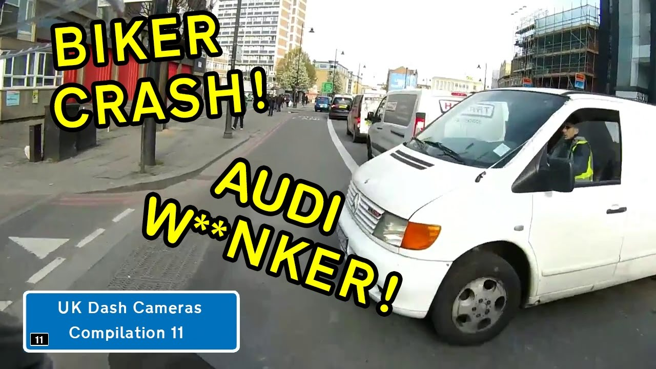 UK Dash Cameras - Compilation 11 - Bad Drivers, Crashes + Close Calls