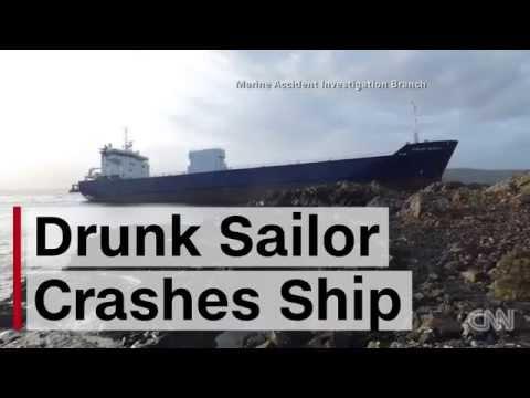 Drunk Russian Sailor Crashes 7,000 Ton Ship