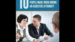 Asbestos Lawyers Part 13