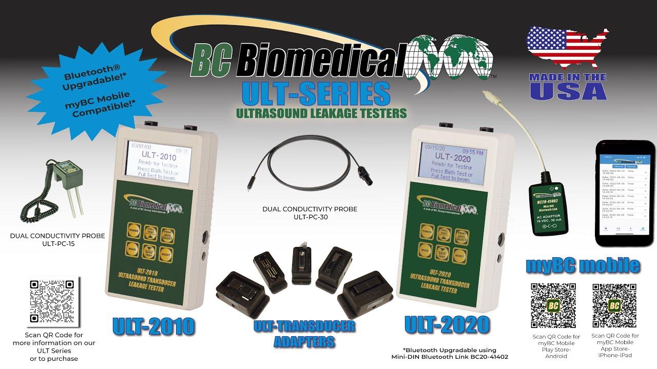 Ultrasound Leakage Tester w/Meter Mode & Logging