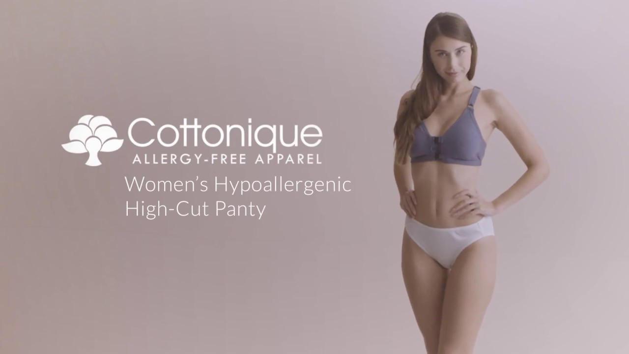 Cottonique Women's High Cut Panty