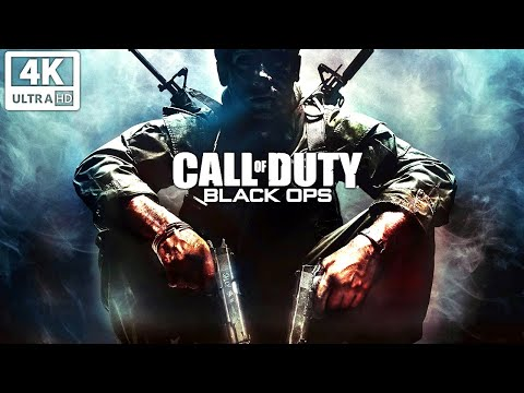 CALL OF DUTY: BLACK OPS 1 All Cutscenes (Game Movie) 4K 60FPS UHD