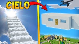 minecraft como hacer una casa en las nubes vive en las nubes y olvídate de los zombies omg