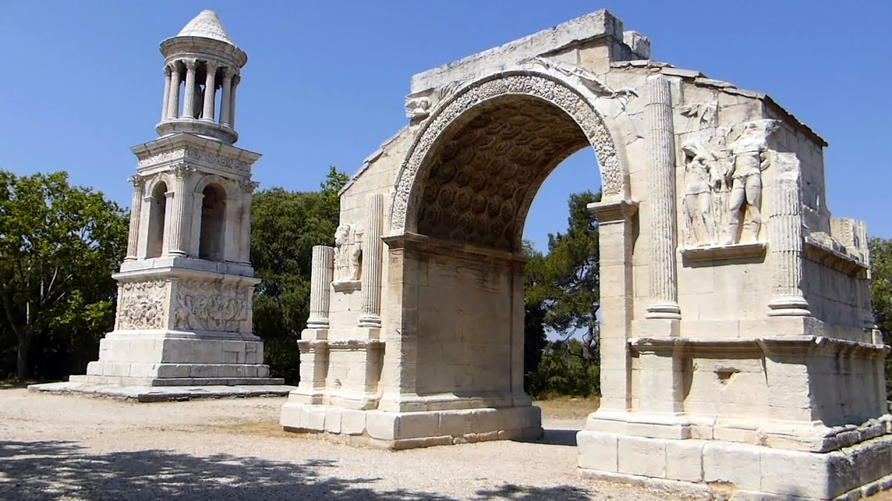 les antiques et le glanum saint r my de provence hd youtube. Black Bedroom Furniture Sets. Home Design Ideas