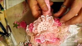 Elegant Shabby Wedding Bouquet Tutorial - jennings644