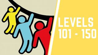 Rope Rescue! Game Level 101-150 Walkthrough