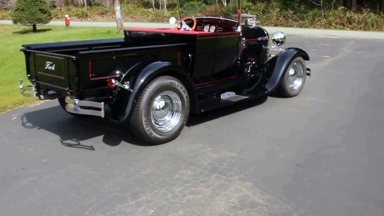 FOR SALE: 1929 Ford Roadster Pickup - YouTube