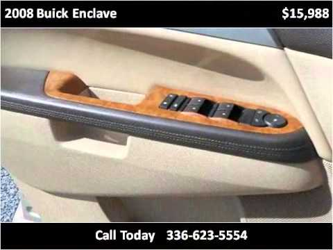 2008 Buick Enclave Used Cars Eden Nc Youtube