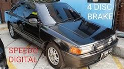 In Depth Tour Mazda 323 Interplay [BG] (1990) - Indonesia