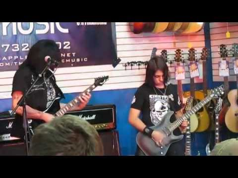 JAM #3 / MAB and 14 y/o GUITARIST JJ SAVAGE AT DEAN GUITARS CLINIC SHREDDING IT UP   11-21-14