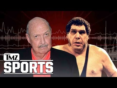 WWE's 'Mean' Gene Okerlund Says Andre the Giant Crushed Him in Drinking Contests | TMZ Sports