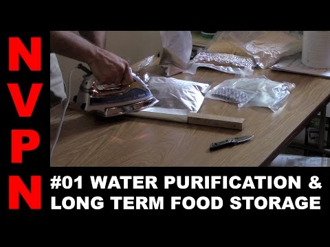 #01 Water Purification and Long Term Food Storage