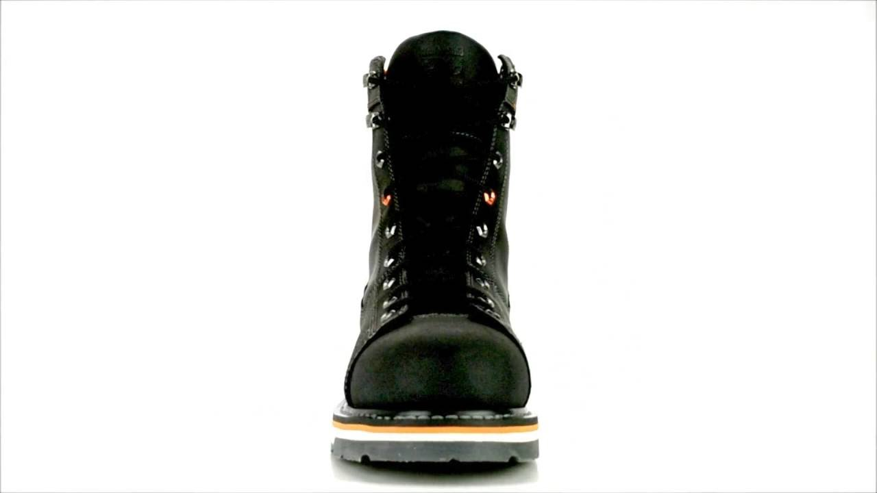 41fb404fac0 Men s Timberland Pro Gridworks Alloy Toe Work Boot A16SS Black Laces   Steel -Toe-Shoes.com