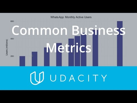 Common Business Metrics | Key Business Metrics | Product Design | Udacity