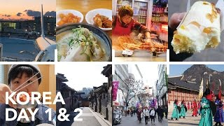 Abroad and Alone for the First Time - Korea Day 1 & 2