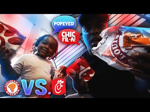 WHAT'S BETTER?! POPEYES OR CHICK-FIL-A CHICKEN SANDWICH w/ WooWop