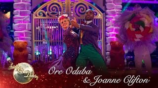 Ore Oduba & Joanne Foxtrot to 'Pure Imagination' from Charlie & the Chocolate Factory - Strictly