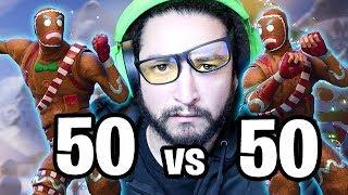FAREWELL 50 VS 50 - Fortnite Battle Royale Christmas Update