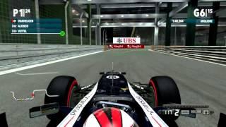 F1 2012 Gameplay Ita PC Gran Premio di Singapore - Corsa contro il tempo -