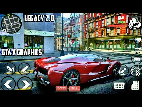 GTA V Android High Graphics Modpack   GTA SA Android   BIGGEST GTA V MOD   Everything Is NEW