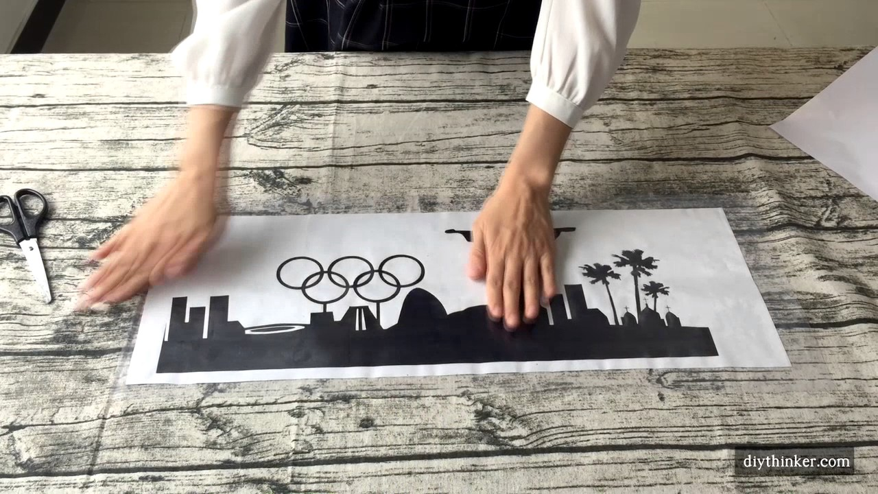 How to apply wall stickers with transfer film youtube how to apply wall stickers with transfer film amipublicfo Image collections