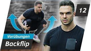 BACKFLIP LERNEN- Die besten Vorübungen (komplettes Training) | Andiletics