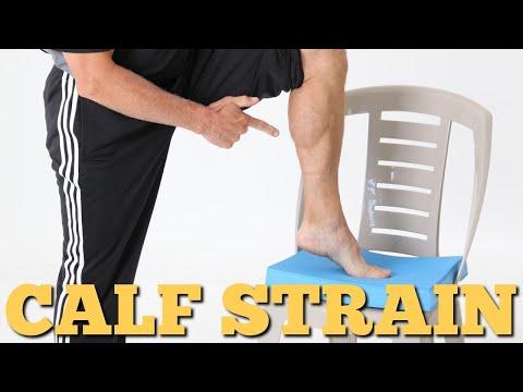 Calf Strains/Knots- STOP