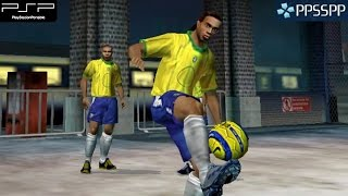 Fifa Street 2 - PSP Gameplay 1080p (PPSSPP)