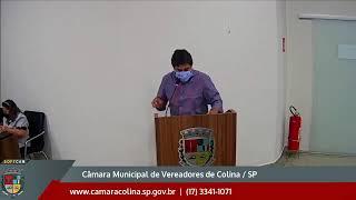 Câmara Municipal de Colina - 6ª Sessão Ordinária 19/04/2021