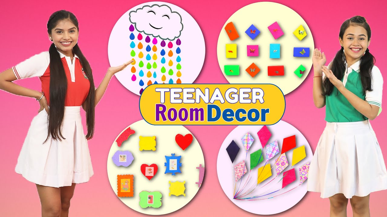 Decorating Kids Room At Home - DIY Decor Ideas | DIYQueen ...