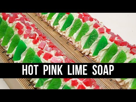 Hot Pink Lime Soap (+TODAY IS THE DAY!!) | Royalty Soaps