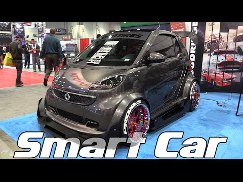 Slammed And Modded Smart Car This Is Madness Youtube