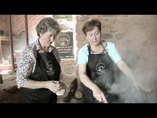 Torre de Don Miguel - Sopa de Patatas Fritas Con Sopetón - Sierra que alimenta cocina de Gata