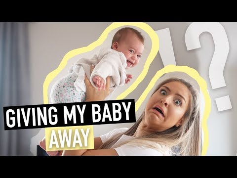 GIVING OUR BABY TO A YOUTUBER?!