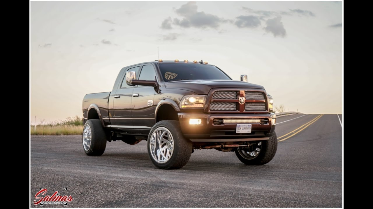 Badass RAM 2500 on 24x14 Specialty Forged wheels Does a ...