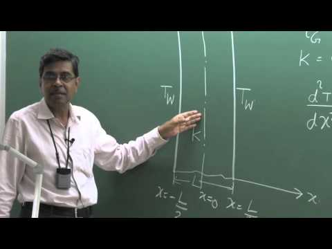 Lecture 06: 1D Steady State Heat Conduction In Plane Wall With Generation of Thermal Energy