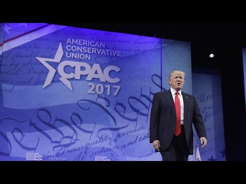 Donald Trump addresses CPAC 2017 - full speech
