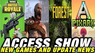 GOW RELEASE! PIXARK PROBLEMS - FORTNITE LMG UPDATE - THE FOREST - CITY OF BRASS -NMS XB1 RELEASE
