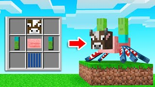 We Crafted CUSTOM MOBS In Minecraft!