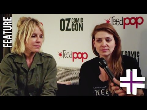 Amber Benson & Emma Caufield - New Game Plus Interview