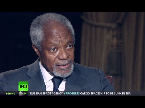 Kofi Annan: Force sometimes justifiable, but we must not be trigger-happy