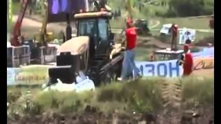 Тракторист и мент  ПРИКОЛ 1