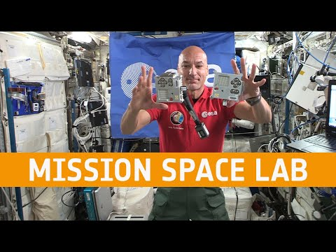 Mission Space Lab 2019-20 finalists webinar with Luca Parmitano