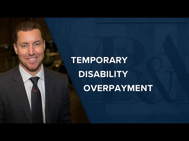 Temporary Disability Overpayment