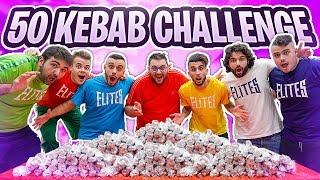 🥙 50 KEBAB CHALLENGE con TONY TUBO!!!