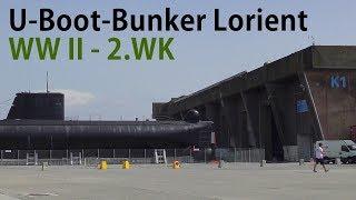 U-Boot Bunker + Schiffswracks, Lorient Frankreich 2.WK -german submarine bunker + shipwrecks WWII
