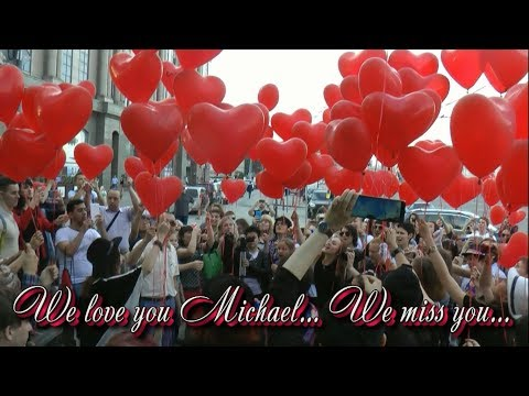 Honoring Michael Jackson. 25th of June, 2015, Moscow, Russia, Novinsky blvd (FULL version)