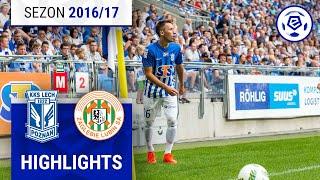 Lech Poznań - Zagłębie Lubin 0:2 [skrót] sezon 2016/17 kolejka 02